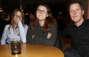 Emma Arvidsson, Alva Runberg Arvidsson och Daniel Arvidsson från Örebro.
