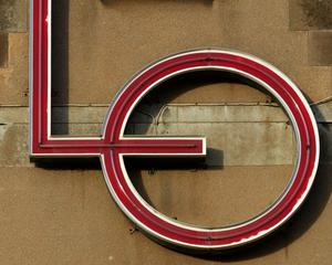 Symbolen för Landsorganisationen, LO, som är en av arbetsmarknadens parter. Foto: Jack Mikrut, SCANPIX.