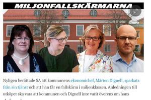 Lars-Göran Carlsson har gång på gång påtalat för politikerna att två rekryterare borde anställas  som kontrollerar referenser vid anställningar.