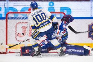 Martin Karlssons 2–1-mål. Foto: Daniel Eriksson/BILDBYRÅN.