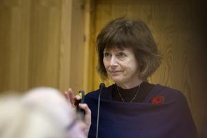Marie Centerwall (S), kommunstyrelsens ordförande.