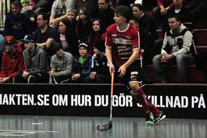 Marcus Persson svarade för två mål varav det ena blev matchavgörande. Foto: Jörgen Wåger/Arkiv