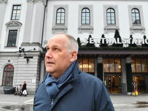 Vänsterpartiets ledare Jonas Sjöstedt. Foto: Jonas Ekströmer / TT.
