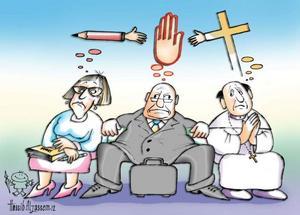 Hassibs galleri: Skola+kyrka=lagbrott?