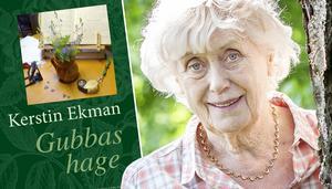 """Kerstin Ekman är aktuell med boken """"Gubbas hage"""".Foto: Bodil Bergqvist"""