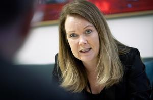 Landsbygdsminister Jennie Nilsson (S). Foto: Claudio Bresciani