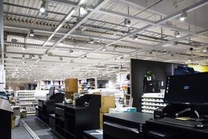 Den nya Mio-butiken i Hälsingland har en försäljningsyta på 2 500 kvadratmeter med ett 770 kvadratmeter stort lager.