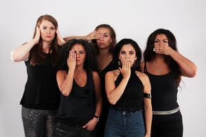 Den svenska gruppen The Forbidden Orchestra är bokade till Urkult – som spelar på instrument som har varit eller är förbjudna, tabubelagda eller kontroversiella för kvinnor att spela i deras hemländer - Argentina, Danmark, Palestina, Senegal och Sverige. Foto: Pressbild