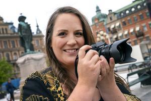 Sandra Malmsten har ett fotograf- och eventföretag som heter Xantan.