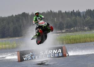 Terje Staffansson, Västerås flyger mot segern i Särna watercross.