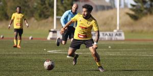 Heby AIF:s Balen Nouri gjorde tre mål.