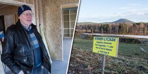 Nu händer det saker i Kyrkbylyckan. Nio tomter finns och entreprenören Lars Göran Berglin är redan i full färd med bygget av ett visningshus.