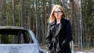 Sabina Kilpinen är 20 år gammal och har bott på Nybyggsvägen hela sitt liv. Något liknande har hon aldrig varit med om.