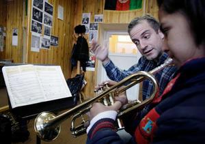 The Afghanistan National Institute of Music, Amin, får det ena av två Polarpris. Arkivbild.Foto: Musadeq Sadeq/AP