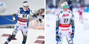 Ebba Andersson och Frida Karlsson saknas båda i Tour de Ski-truppen.