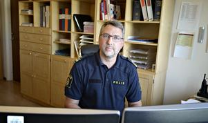 Erik Bylund, förundersökningsledare polisen i Kramfors