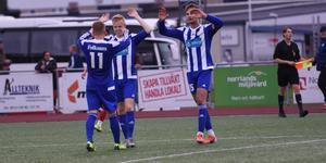 Det blev tre mål på nio matcher under hösten för Petter Thelin.