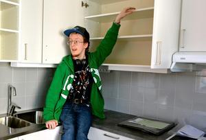 Delar av köket kommer att bytas ut för att Andreaz Fahlberg ska nå alla hyllor.