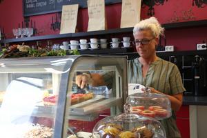 För Magdalena Modig väntar nya utmaningar när caféet slår igenom i slutet på oktober.