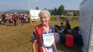 86-åriga Maja-Lisa Bergström från Selånger SOK jagar 13:e segern i O-Ringen.