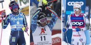 Frida Hansdotter, Andre Myhrer och Stina Nilsson är tre av stjärnorna som inte kommer till SM-veckan i Sundsvall.
