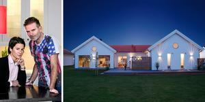 För drygt ett år sedan gjord vi på NA Bostadspuls ett Hemma-hos-reportage hos Susanne Rosencrantz Åkeson och Claes Åkeson i nybyggda villan i Kumla. Nu vill de bygga nytt och större.