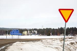 Infarten till Backe vid Fjällsjöälven. Arkivbild.