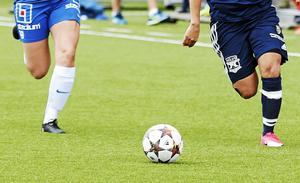 Telge United spelar sina matcher på Fotbollsarenan.