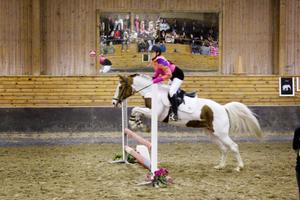 Lina Hedlund, en hejare på hästryggen. Också.