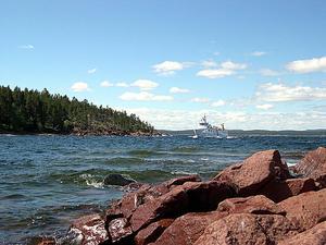 Södra Ulvön kan få både mer skydd på land och dessutom ett marint reservat ute till havs. Foto: Erik Åmell