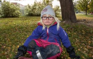 Ellen Jakobsson, 4 år, Spelevinkens förskola i Bergsåker