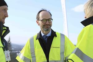 – Svenska folket vill åka mer tåg och vi måste satsa på hela landet, i bara på storstadsregionerna. Det här är ett utmärkt exempel på det, sade Tomas Eneroth (S), infrastrukturminister.