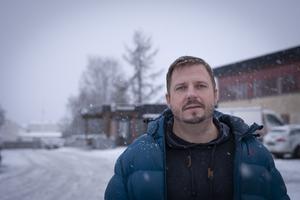 Tore Åberg, chef för gatuenheten på Östersunds kommun.