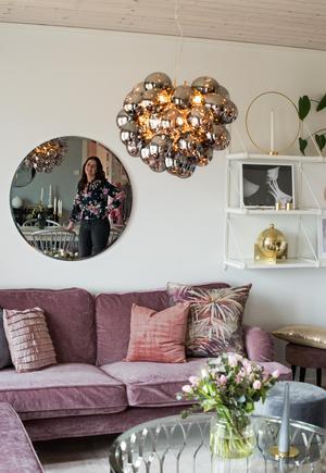 När Malin började instagramma förändrade hon sitt hem och fick en helt ny inredningsstil.