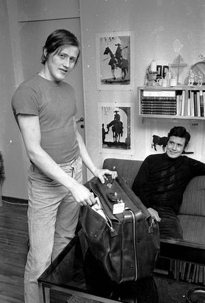 FRÅN KIRUNA. Stig Salming kom först till Gävle, sedan lillbrorsan Börje. Trots en del rumlande på stan blev det SM-guld 1971 och 1972 med Brynäs innan Börje drog vidare till NHL.