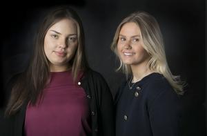 Ebba Olauzon och Wilma Olofsson Ulrichavslutar nu sitt vikariat på ÖP för denna gång.