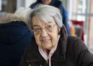 Barbro Bergström, 82, pensionär, Sundsvall