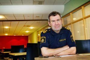 Per Thelin, förundersökningsledare vid polisen i Östersund. Foto: Ulrika Andersson