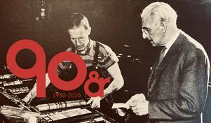 Nu är det 90 år sedan Karl Witus Johansson, signaturen Kåve, grundade Värnamo Nyheter.