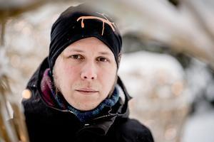 Carl-Johan Utsi / TTDavid Väyrynen vill att hans dikt ska vara kommunikativ.