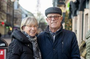 Elsa Thunström, 78, Kjell Thunström, 80, pensionärer, Sundsvall.