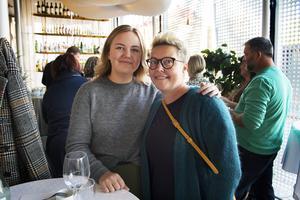 Ellen och Maria Persson tycker att matvandringen är en