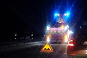 Två hästar blev påkörda på E16 i höjd med Ornäs på tisdagskvällen. Olyckorna skapade trafikstörningar i båda riktningarna.