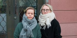 Frida Kempff och Sandra Boström vill se mer transparens och en omprioritering från kommunens sida.