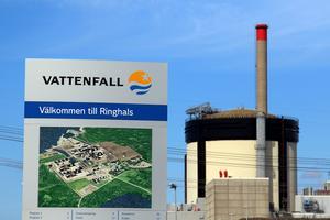 Fullföljs det planerade stoppet av Ringhals driftdugliga kärnkraftsaggregat får vi den sämsta leveranssäkerheten i elförsörjningen på 50 år, skriver SIvert Göthlin. Foto: Adam Ihse, TT.