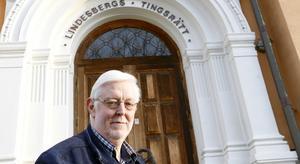 Lindesbergs tingshus är Sveriges vackraste byggnad anser Lasse Nilsson. Huset har i stort sett stått oanvänt under många år, men är väl underhållet.