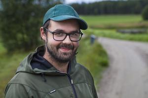 Händelsen skärrade Kristoffer Olsson, men han kommer trots allt att delta i årets björnjakt.