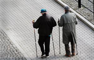 Stig Sundqvist vill se en rad förändringar i partiernas program inför nästa val – inte minst med fokus på pensionärer. Bild: Hasse Holmberg/TT