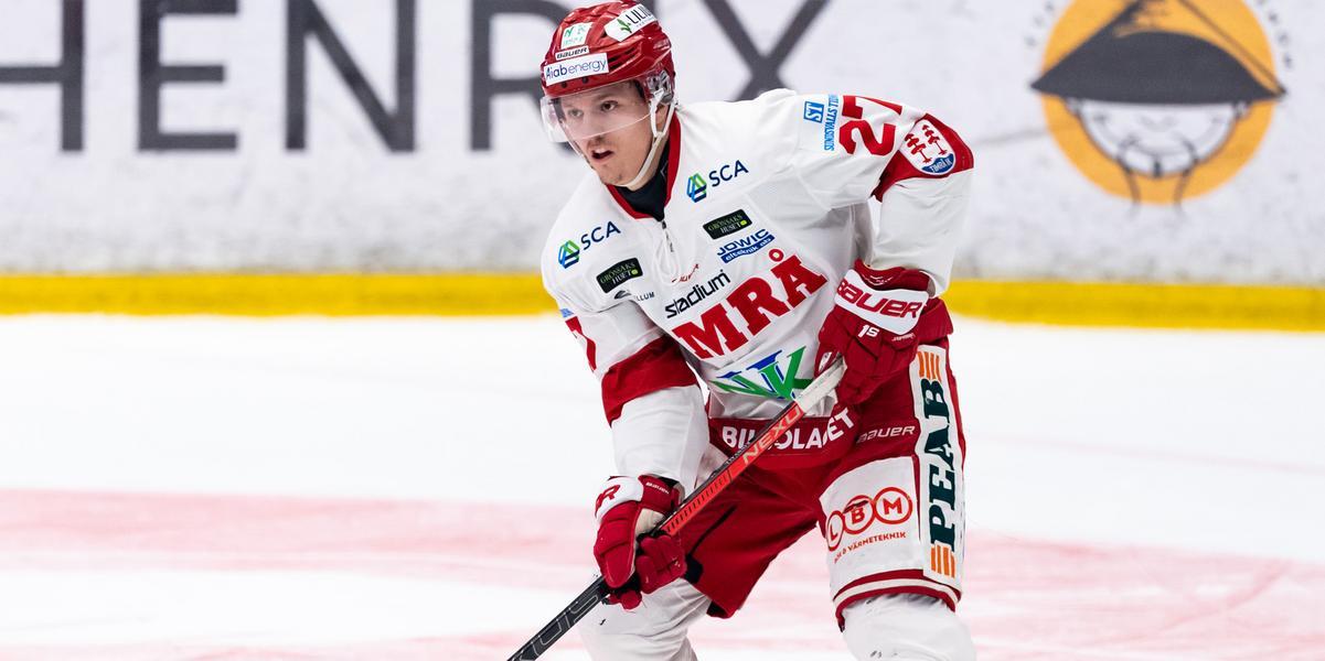 Var en av Timrås bästa backar – bjuds in till NHL-läger: