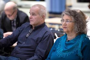 Jan Karlsson och Gun Andersson har varit Centerns företrädare i fullmäktige denna mandatperiod. Men till hösten har Gun Andersson troligen gjort sitt i församlingen.